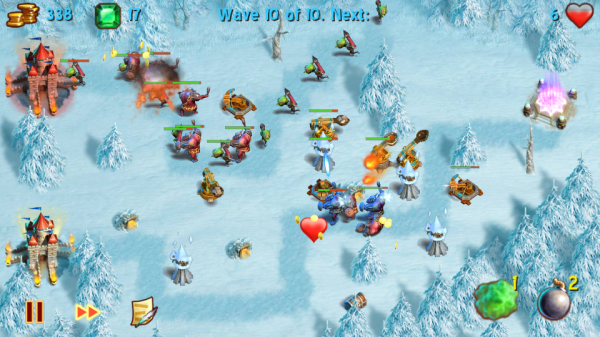 Screenshot 2012 05 29 17 32 21 600x337 Towers N Trolls   povedená tower defense