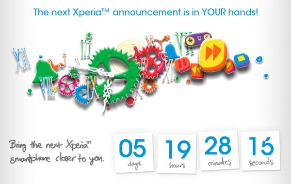 Sony Xperia odpočet