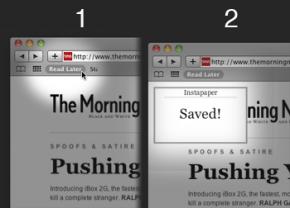 Bookmarklet Instapaperu pro jakýkoliv prohlížeč