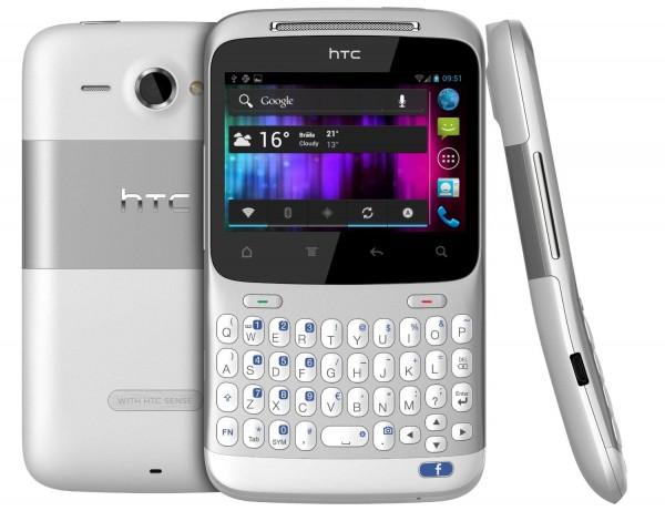 htc chacha ics 600x461 HTC ChaCha dostává neoficiální port CyanogenModu 9 (Android 4.0 ICS)