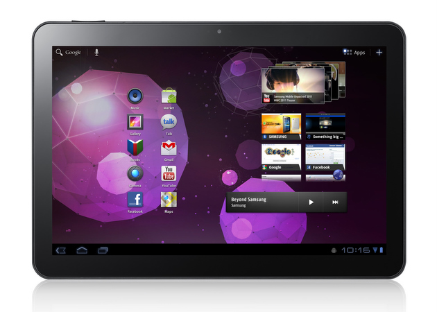 Samsung Galaxy Tab 10.1 XDA: Telefonujte z Galaxy Tabu 10.1