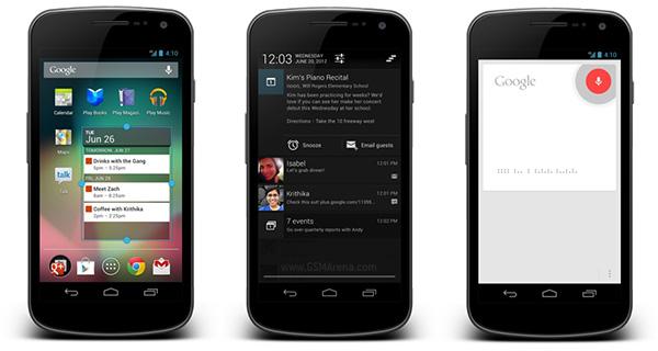 Galaxy Nexus začíná dostávat aktualizaci na Android 4.1 Jelly Bean