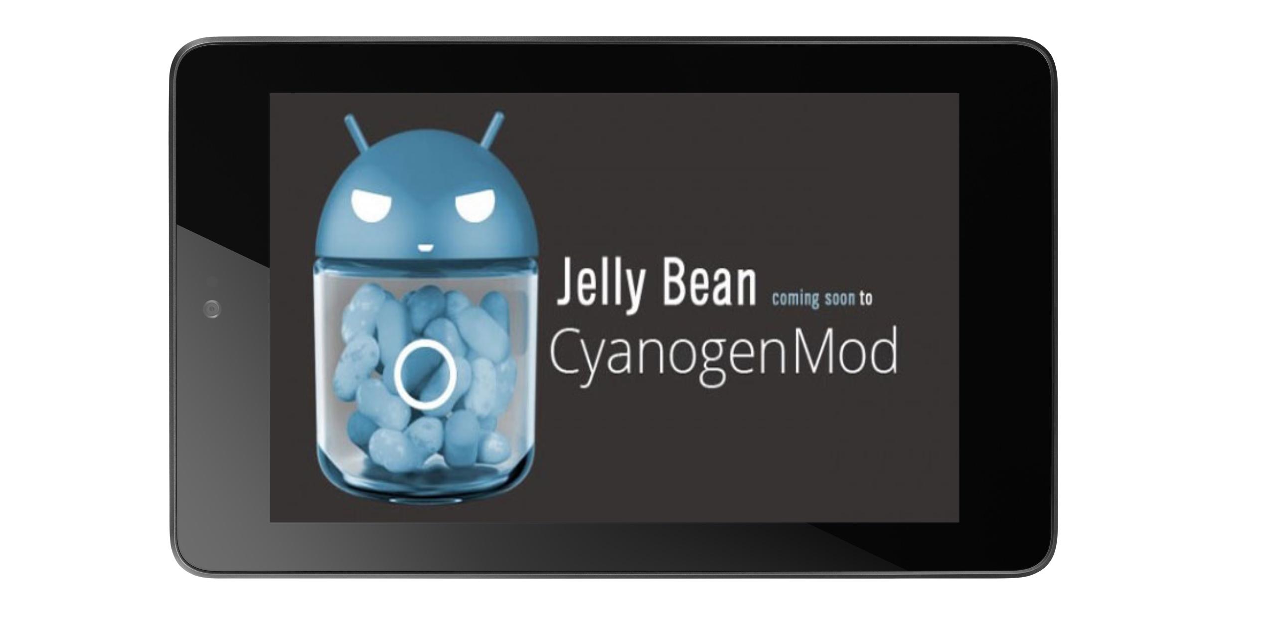 Nexus 7 dostává neoficiální build CyanogenModu 10