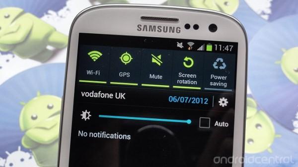 Galaxy S III - OTA update