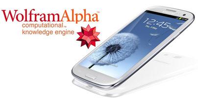 wolfram samsung Wolfram Alpha a Samsung uzavřeli spolupráci