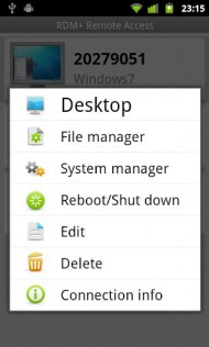 RDM + Remote Desktop