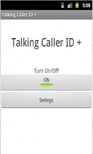Talking Caller ID +