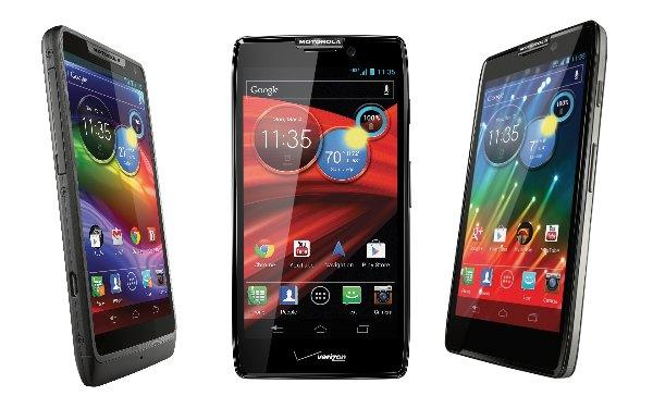 Motorola Razr HD telefony