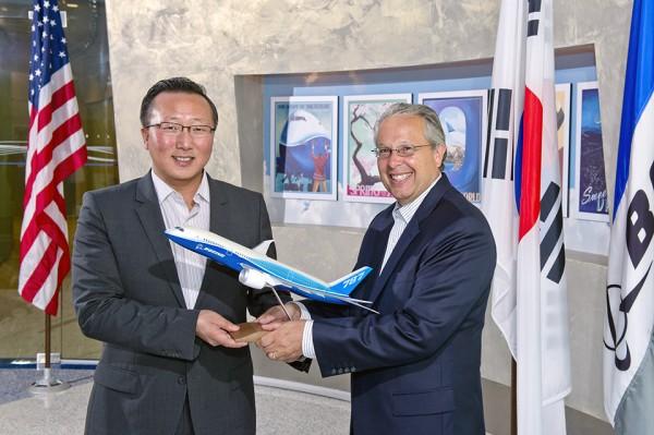 Boeing a Samsung - partnerství