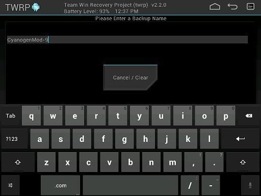 TWRP 2.3.2.1 - podpora víceuživatelského Androidu 4.2 a další