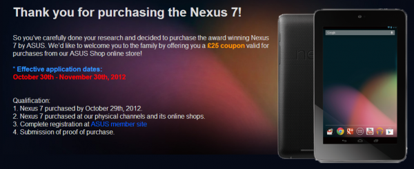 Nexus7 kompenzace