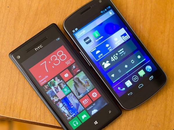 WindowsPhone8 vs. Android