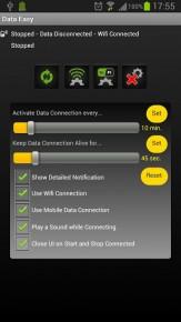 data 3 163x290 Data Switch   spouštějte mobilní data jen v určitých intervalech a ušetřete baterii