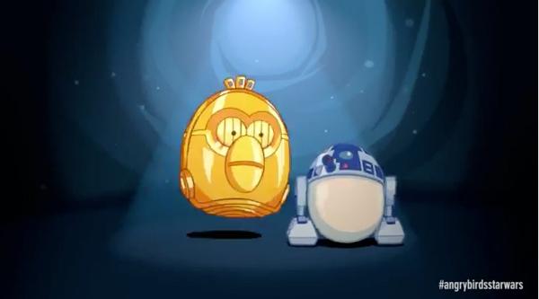 Angry Birds R2 a D2