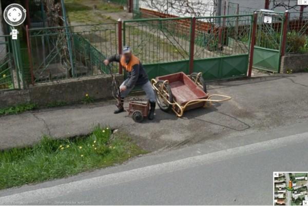 Slovensko v Google Street