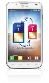 LG Optimus L7 II Dual white