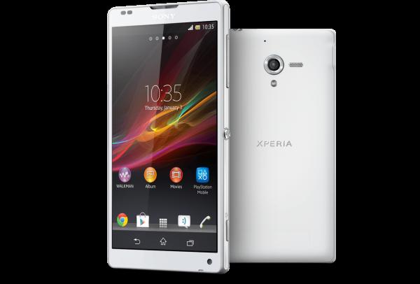 Sony Xperia ZL - white
