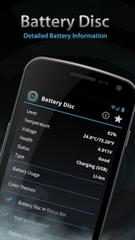 Beautiful Battery Disc Premium