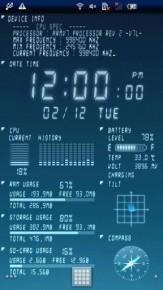 Device Info Live WallPaper 1
