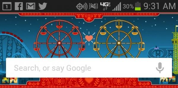 Google Now s Google Doodles