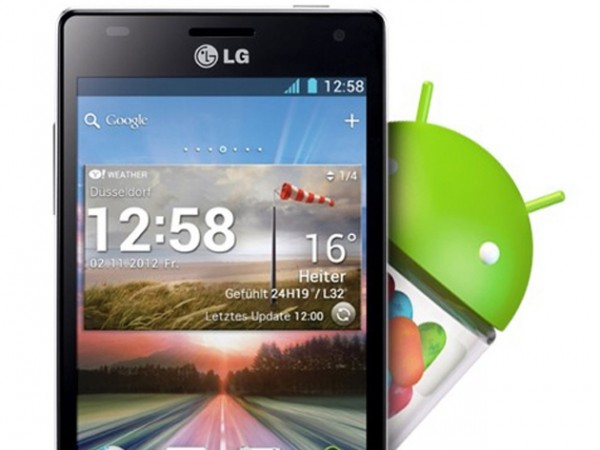 LG Optimus 4X HD Jelly Bean