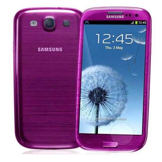 Samsung Galaxy S III Purple