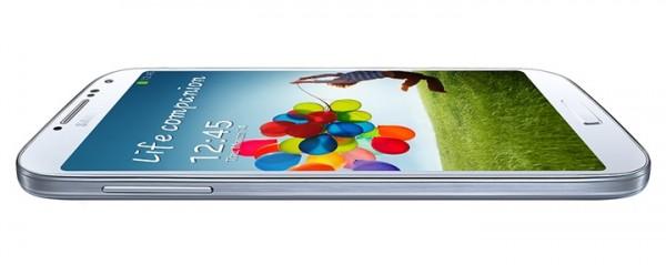 Samsung Galaxy S4 side