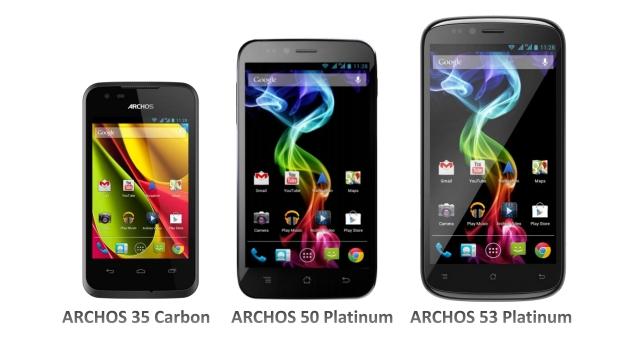 archos smartphones