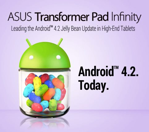 asus transformer infinity android 4.2
