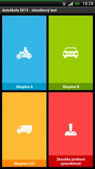 autoskola 1 190x337 Autoškola 2013   připravte se na testy pomocí aplikace pro Android