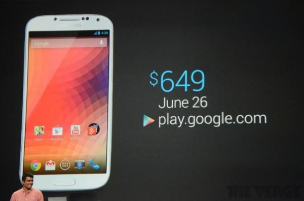 Galaxy S4 Google
