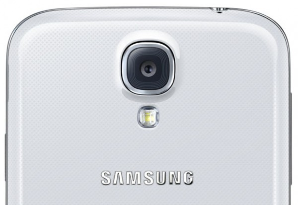 Samsung Galaxy S4 camera detail
