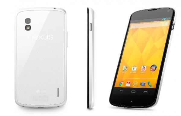Bílý Nexus 4