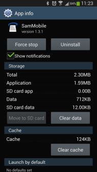 Galaxy S4 update