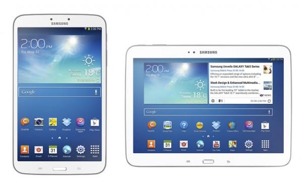 Samsung Galaxy Tab 3 8.0 vs Galaxy Tab 3 10.1