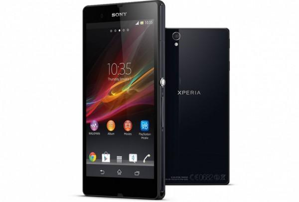 Sony Xperia Z render