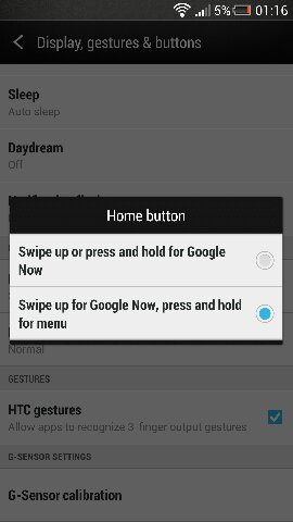 htc one 4.2.2 button