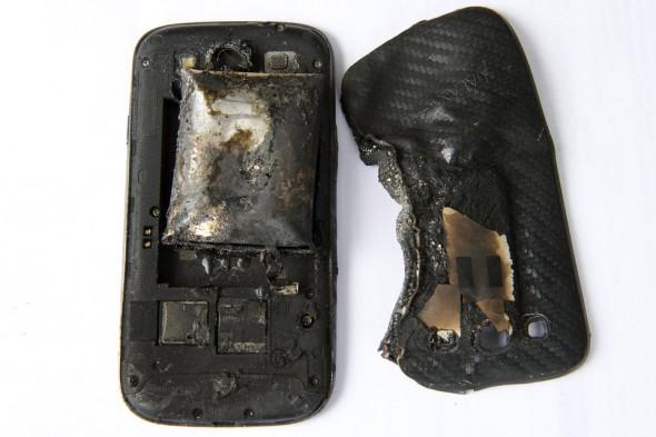 Galaxy S3 exploze 1