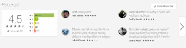 Google play recenze