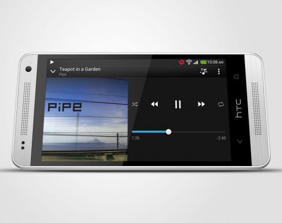 HTC One Mini silver 2