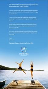 Motorola X ad usa