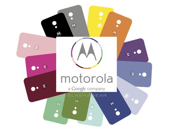 Motorola X colors logo
