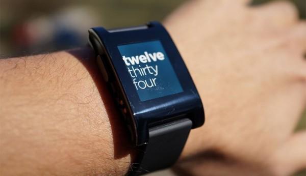 Pebble Watch techcrunch