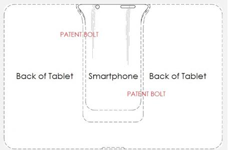 Samsung Padfone patent