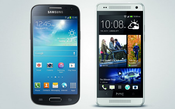 Smasung Galaxy S4 Mini vs HTC One Mini