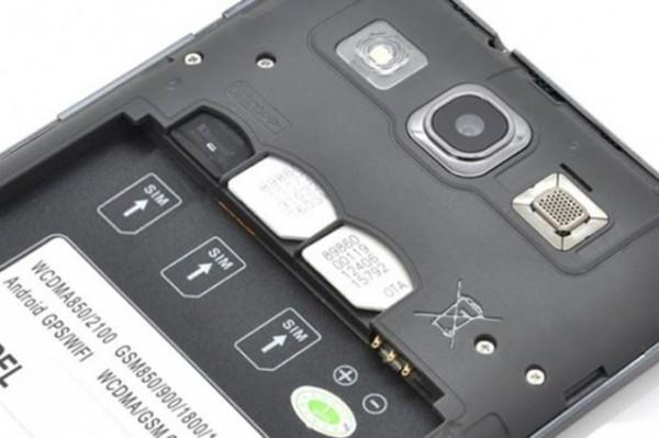 Goophone X1 slots