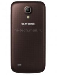 Samsung Galaxy S4 Mini brown leak