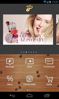 Tchibo aplikace pro Android