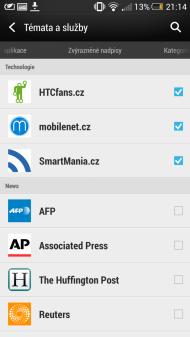 HTC Blinkfeed 2