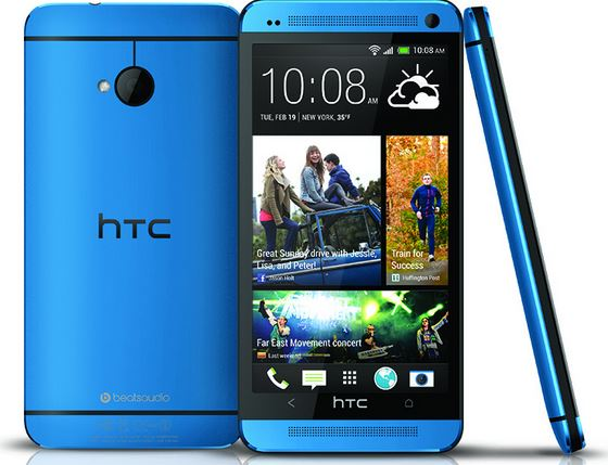 HTC One blue render